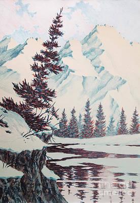 Cliffhangers Art Print
