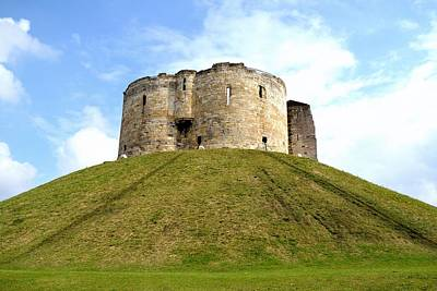 Photograph - Clifford's Tower York by Scott Lyons
