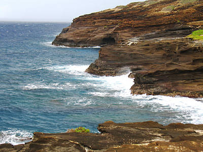 Photograph - Cliffs At Makapu'u by Ellen Henneke