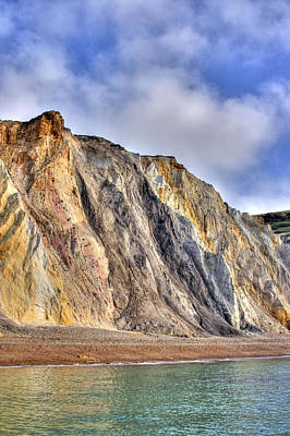 Alum Rock Park Photograph - Cliffs At The Isle Of Wight by Fizzy Image