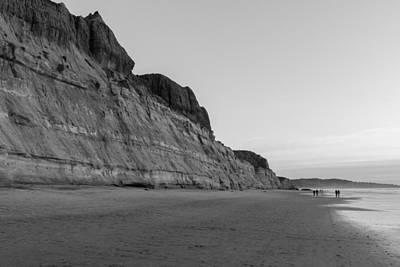 Photograph - Cliffs At Torrey Pines Beach by Scott Rackers