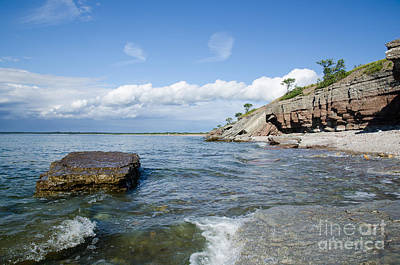 Photograph - Cliffs By The Coastline by Kennerth and Birgitta Kullman