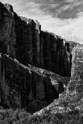 Photograph - Cliffs In Contrast by Renee Hong