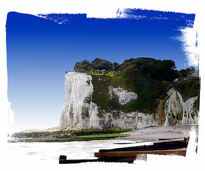 Photograph - Cliffs Of Dover by Gordon Engebretson