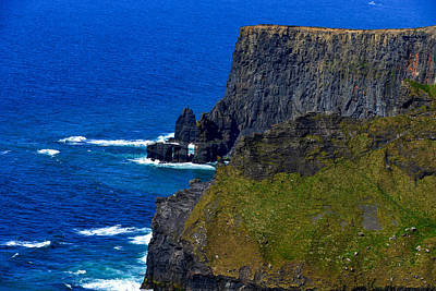 Photograph - Cliffs Of Moher - Ireland by Marilyn Burton