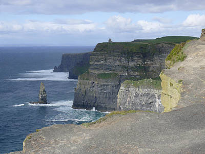 Atlantic Ocean Photograph - Cliffs Of Moher 4 by Mike McGlothlen
