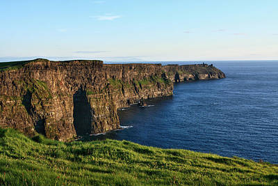 Photograph - Cliffs Of Moher, County Clare, Ireland by Aidan Moran