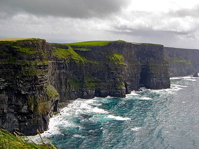Photograph - Cliffs Of Moher by Denise Mazzocco