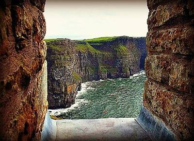 Cliffs Of Moher From O'brien's Tower Art Print