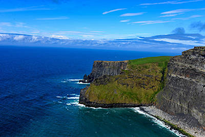 Photograph - Cliffs Of Moher In Ireland by Marilyn Burton