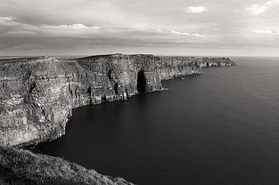 River Corrib Photograph - Cliffs Of Moher Ireland by Pierre Leclerc Photography