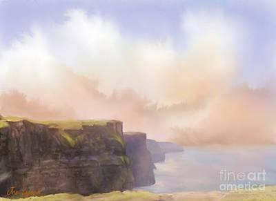 Irish Country Scenes Digital Art - Cliffs Of Moher by Joe Lynch