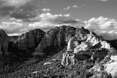 Target Threshold Nature - Cliffs of Sedona by Brian Kerls