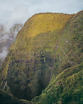 Photograph - 100109-cliffs Over Kalalau Valley  by Ed  Cooper Photography