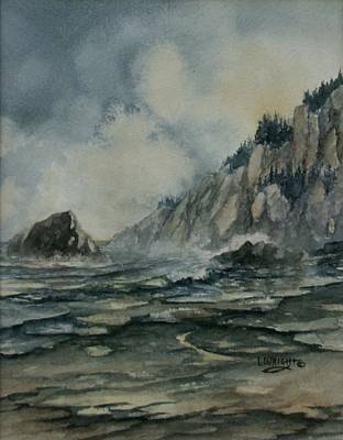 Painting - Cliffside by Lynne Wright