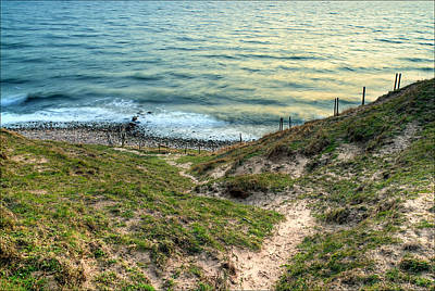 Pretty Photograph - Cliffside Path by EXparte SE