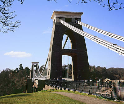 Photograph - Clifton Suspension Bridge Bristol by Christopher Rees