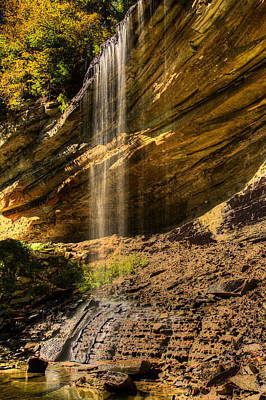 Photograph - Clifty Falls by Walt Sterneman