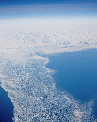Arctic Air Photograph - Climate Change In Greenland by Ashley Cooper