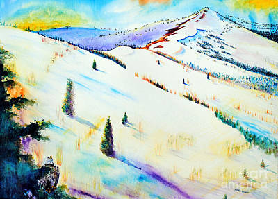 Painting - Climb Every Mountain by Tracy Rose Moyers
