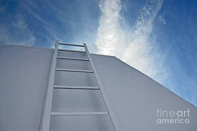 Art Print featuring the photograph Climb Up by Lena Wilhite