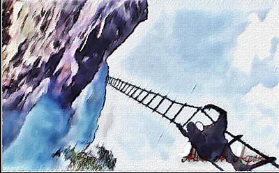 Painting - Climb by Withintensity  Touch