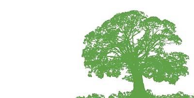 Backdrop Digital Art - Climbing Tree by Sarah Hough