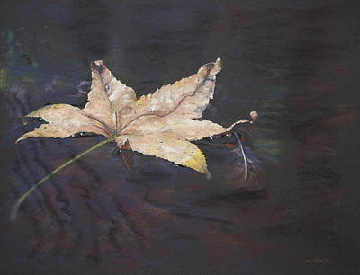 Cling To The Leaf Original by Christopher Reid