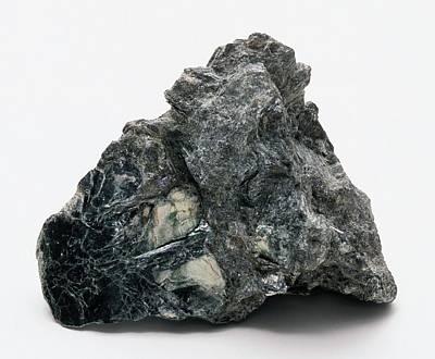 Silicate Photograph - Clinochlore On Rock Groundmass by Dorling Kindersley/uig