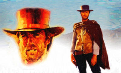 Poster Painting - Clint Eastwood 4 by MotionAge Designs