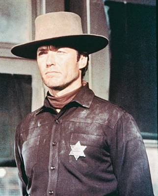 Ems Photograph - Clint Eastwood In Hang 'em High  by Silver Screen