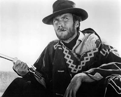 Clint Photograph - Clint Eastwood In Il Buono, Il Brutto, Il Cattivo.  by Silver Screen