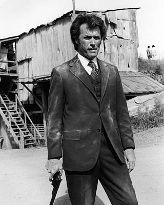Clint Photograph - Clint Eastwood Is Dirty Harry by Silver Screen