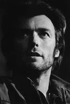Travel - Clint Eastwood Portrait Tucson Arizona 1971 by David Lee Guss