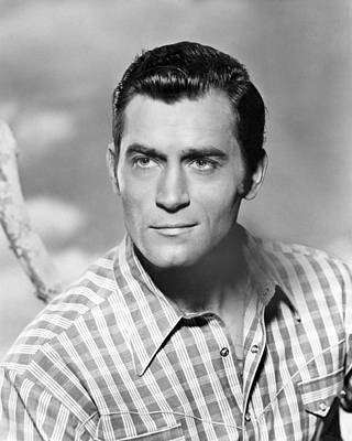 Clint Photograph - Clint Walker by Silver Screen