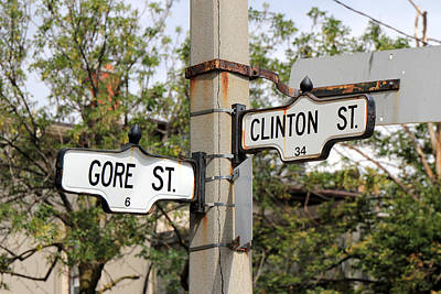 Politicians Royalty-Free and Rights-Managed Images - Clinton and Gore by Andrew Fare