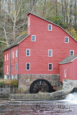 Photograph - Clinton Mill 20121101_35a by Tina Hopkins