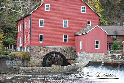 Photograph - Clinton Mill 20121101_36a by Tina Hopkins