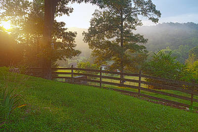Photograph - Clinton Tennessee Scenic View by Melinda Fawver
