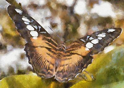 Digital Art - Clipper Butterfly by Charmaine Zoe