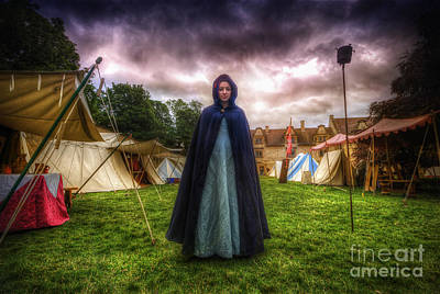 Riding Hood Photograph - Cloak by Yhun Suarez
