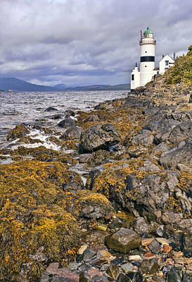 Drama Photograph - Cloch Lighthouse by Marcia Colelli