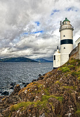 Coastline Photograph - Cloch  Point Lighthouse  by Marcia Colelli