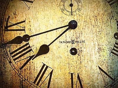Clock Face Art Print