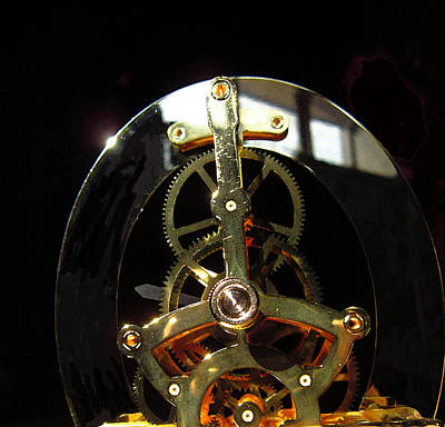 Photograph - Clock Guts by Mary Bedy