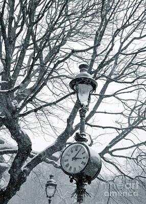 Photograph - Clock II by Louise Fahy