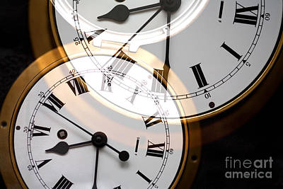 Clock Art Print by Natalie Kinnear