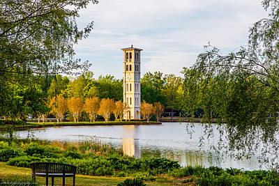 Furman Photograph - Clock Tower by Deke Bolte