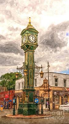 Birmingham Clock Tower  Print by Mickey At Rawshutterbug