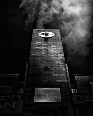 Photograph - Clock Tower No 110 Davenport Rd Toronto Canada by Brian Carson